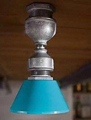 Vintage  Pipe Design Spot Light, 1 Light with ... – CAD $ 97.29