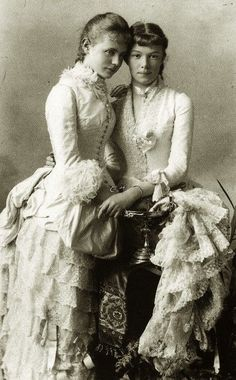 archduchess marie valerie of austria and cousin 1880 - Google Search