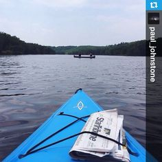 @paul_johnstone our guest @Instagram photographer let the current do the work for him this morning on the St. Croix River near Taylors Falls, MN #OnlyinMN