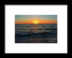 sunset, nature, water, sky, florida, landscape, michiale schneider photography, interior design, framed art, wall art