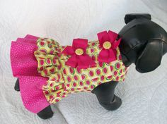 Hey, I found this really awesome Etsy listing at http://www.etsy.com/listing/165460427/small-last-one-watermelon-dog-dress-with