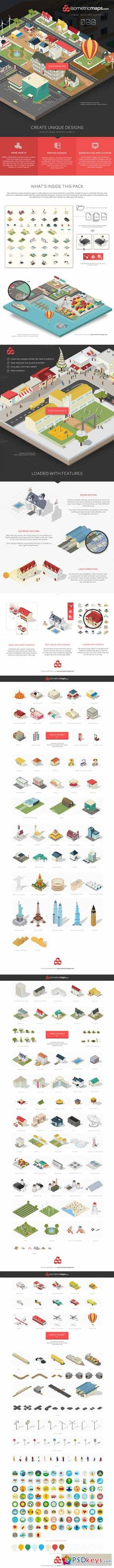 Isometric City Maps Builder 111453