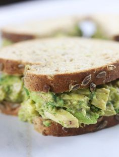 Clean eating just became so much more fun with this Mexican Chicken Avocado Sandwich. It is like having the best of two worlds, guacamole and a chicken salad sandwich. No more boring lunches!