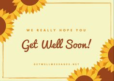 Express your get well soon wishes with a touching picture from our definitive selection of free to use get well images and quotes Get Well Soon Images, Well Images, Get Well Messages, Get Well Cards, Get Well Quotes, Best Quotes, Heartfelt Quotes, Hope You, Wish