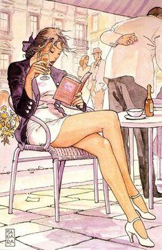 vitazur:  Milo Manara - Donna moderna, 1997.