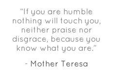Humility. Keep me humble, Lord.