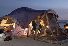 Beach Camping camping tips, beaches, tents, tent camping, family camping, the ocean, beach camping, nature activities, kids camping