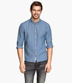 H&M Shirt in a textured weave $34.95