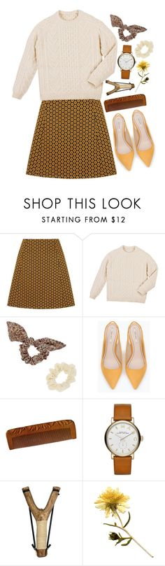 """Untitled #1177"" by lbenigni ❤ liked on Polyvore featuring Topshop, Zara and Marc by Marc Jacobs"