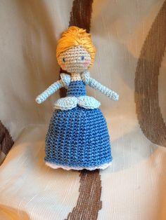 Crocheted doll... Cinderella