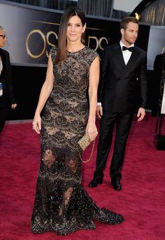 Sandra Bullock at the Oscars 2013