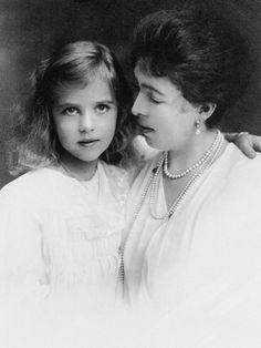 Crown Princess Margaret of Sweden and her children Ingrid and Carl Johan
