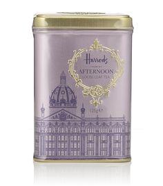 HARRODS  Afternoon Loose Leaf Tea Tin (125g)