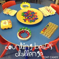 Compare bears Counting Activities Eyfs, Maths Eyfs, Eyfs Classroom, Nursery Activities, Kindergarten Math, Preschool Activities, Toddler Classroom, Math Math, Toddler Learning