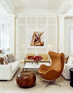Beautiful egg chair | Daily Dream Decor