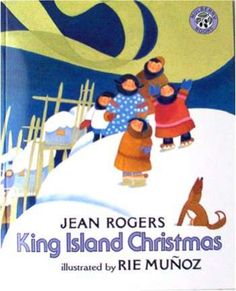"""King Island Christmas Book"" Rie Munoz ""King Island Christmas"" Soft cover book Written by Jean Rogers and illustrated by Rie Munoz. ""A beautifully designed book to enjoy at any time of the year"", says The Horn Book."