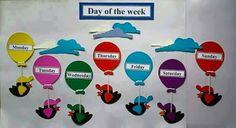 Nursery Display Boards, Classroom Display Boards, Classroom Charts, Classroom Rules, Classroom Design, Classroom Displays, Word Wall Kindergarten, Preschool Classroom Decor, Preschool Colors