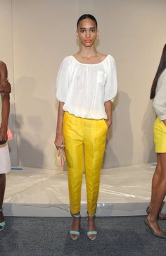 JCrew Spring 2012, cropped slacks are a new fashion trend also!