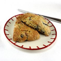 Cream Scones with Blueberries, Cardamom and Masa