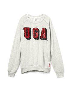 University of Georgia Bling Gym Crew - PINK - Victoria's Secret