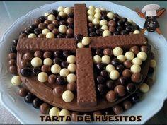 TARTA DE HUESITOS, COMO HACER LA TARTA MAS FACIL DEL MUNDO - TvCocina . Recetas Gourmet . Vídeos de Cocina y Más !!