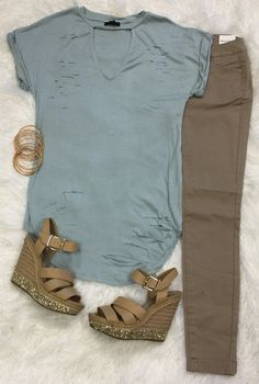 Show Me the Way Tunic: Blue from privityboutique