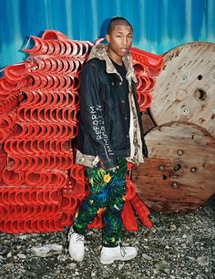 From check to camo, tartan to stripes, explore the collection of 25 prints, selected by Pharrell Williams and applied to the iconic G-Star Elwood jeans.