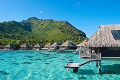 Un paraíso llamado Moorea: la postal más bella existe en la Polinesia