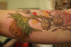 By Rachel E. Hauer.  gorgeous-- the soft, natural style and delicate lines are what I want for my sparrow or chickadee rib tattoo