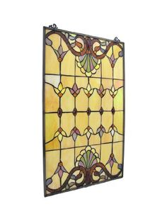 Victorian stained glass stained glass film purlfrost the for Victorian stained glass window film