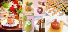 frutta segnaposto matrimonio