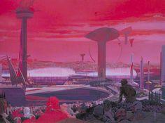 Syd Mead Futurism Recreational Landscape (Spencer, N. 2011)