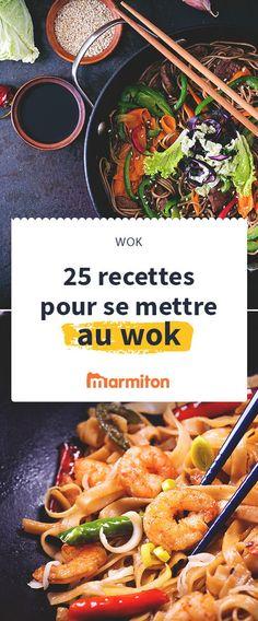 Il va devenir votre prochain meilleur ami, c'est le wok. Une fois tous les ingrédients découpés en petits morceaux, le temps de cuisson est très rapide et simple. Et on vous a sélectionné plein de recettes :) #marmiton #recette #wok #rapide