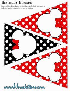 Help Festas e Personalizados: Kit Minnie Vermelha