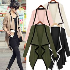 Cheap sweater cardigan coat, Buy Quality sweater designs for ladies directly from China sweater bag Suppliers: New Stylish Fashion Women's Asymmetric Cape Womans Poncho Top Super Worthy Long Sleeve Coat Sweater Cardigan Tops Win
