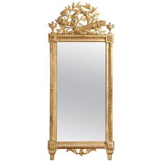 Fine Antique French Pier Mirror available for sale at Atelier1505.com