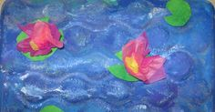 I love Claude Monet. I love teaching students about him and his art work. I came up with the idea to paint a Monet lily pond from an ...