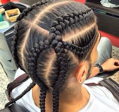 Don't Know What To Do With Your Hair: Check Out This Trendy Ghana Braided Hairstyle ⋆ African American Hairstyle Videos - AAHV - - # ghana Braids kids # Braids for kids with bangs Little Boy Braids, Braids For Boys, Braids For Black Hair, Cornrows For Boys, Cornrow Hairstyles For Men, American Hairstyles, Hairstyles With Bangs, Kids Hairstyle, Teenage Hairstyles