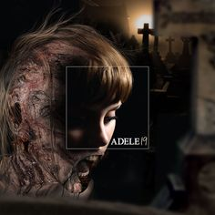 """Extended famous album covers highlight what should have been included all along  Adele """"19"""" 2008"""