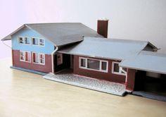 vintage ranch model home