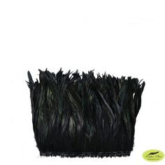 Rooster Coque Tails-Dyed - Black. Check out our DIY board for ideas.  SHOP FEATHERS: www.featherplace.com/feather-types/rooster/coque-tails.html