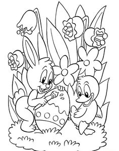 easter coloring sheets printable free