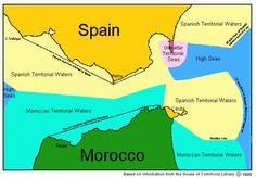 Las aguas territoriales de Gibraltar - La Tribuna Hoy  Finally Spanish press speaking the truth about Gibraltar's Territorial waters!