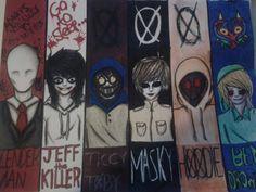 Creepypastas by Caitlin-I.deviantart.com on @DeviantArt