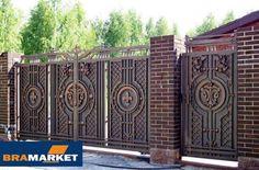 Особенности откатных кованых ворот в Хмельницком, советы от компании brama-market.lviv.ua - khmelnytsky.com.ua