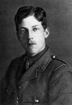 WWI Poet Captain Charles Hamilton Sorley