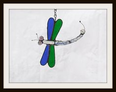 Stained Glass Dragonfly by jpglass on Etsy