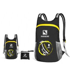 ae5f6adc7399 IPRee® 18L Foldable Backpack Ultralight Outdoor Sports Travel Waterproof  Folding School Bag Men Women