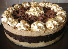 The Caked Crusader: Mocha (chocolate coffee) torte