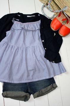 blouse rayée 002